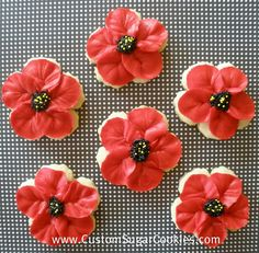 poppy Cookies | poppy cookies here are some poppy cookies i made which took awhile to ...