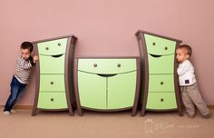 smiley furniture just like in fairy tales! Kids Dressers, Kids Furniture, Smiley, Fairy Tales, Home Decor, Furniture For Kids, Decoration Home, Dressers For Kids, Room Decor