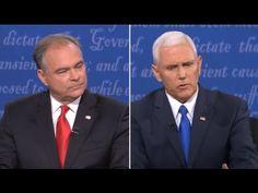 FULL VP DEBATE: Mike Pence vs Tim Kaine - Vice Presidential Debate - Longwood University (10/4/2016)