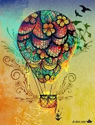 zentangle hot air balloon - Google Search