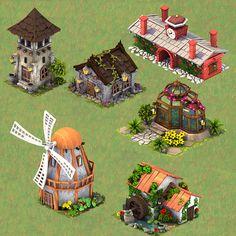 Mobile Game art on Behance