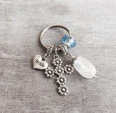 Something old, Something new, Something borrowed, Something blue, BRIDAL SHOWER GIFT, Bride to Be, Wedding, Keychain, Keyring, Key chain by SAjolie, $16.95 USD