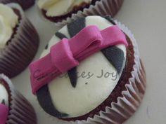 cupcake zebrinha