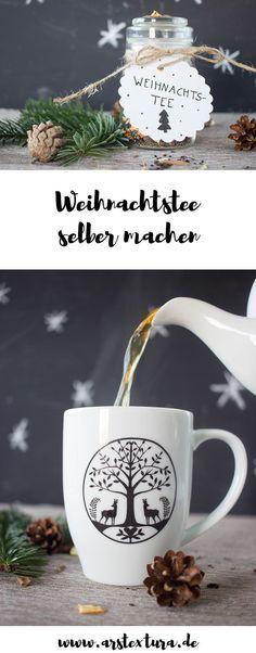 DIY Geschenk aus der Küche - Weihnachtstee selber machen - ein leckeres Wintergetränk