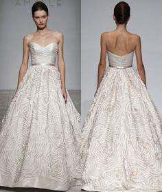 Amsale #wedding #gown