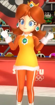 Mario and Sonic at the Sochi 2014 Olympic Winter Games Daisy 15 Princess Peach Mario Kart, Super Mario Princess, Nintendo Princess, My Princess, Super Mario Brothers, Super Mario Bros, Mario Kart Characters, Princesa Daisy, Luigi And Daisy