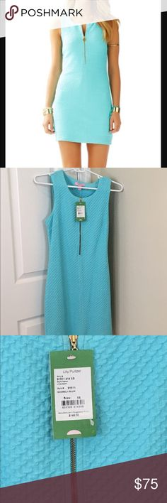 NWT Lynd Shift Size XS New with tags. Lynd Shift in Shorely Blue. Size XS. Love the soft material. No trades. Lilly Pulitzer Dresses