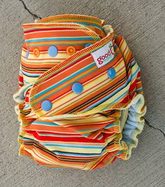 Sunrise One-Size Fitted Diaper by thegoodmama.com, via Flickr