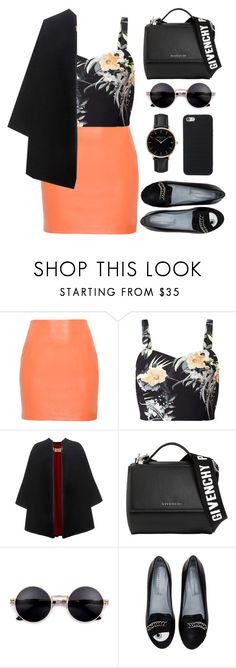 """""""Untitled #189"""" by imelda-marcella-chandra ❤ liked on Polyvore featuring Miss Selfridge, Burberry, Givenchy, Chiara Ferragni and ROSEFIELD"""