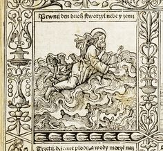 Six Days of Creation (detail) Czech Bible of 1506 Bridwell Library, Southern Methodist University