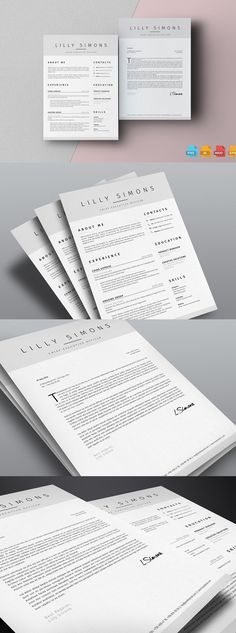 Infographic Resume   Cv Template INDD, PSD Resume   CV Design - buy a resume