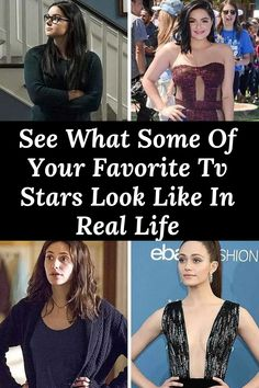 #See #What #Some #Of #Your #Favorite #Tv #Stars #Look #Like #In #Real #Life Celebrity Gossip, Your Favorite, Real Life, Stars, Tv, Celebrities, Unique, Amazing, Funny