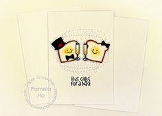 This Calls For A Toast card by Pamela Ho for Paper Smooches - Wake Up stamps and Icon die set