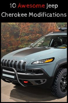Get ready to discover 10 Awesome Jeep Cherokee Modifications for the KL. Most KL Cherokees remain stock with their owners completely unaware of all of the fun they could be having modifying their Jeep! Jeep Cherokee 2016, 2016 Jeep Cherokee Trailhawk, Jeep Trailhawk, Lifted Jeep Cherokee, Jeep Cherokee Limited, Jeep Cherokee Accessories, Jeep Accessories, Jeep Mods, Jeep Suv