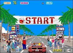 Outrun (Arcade / 1986)