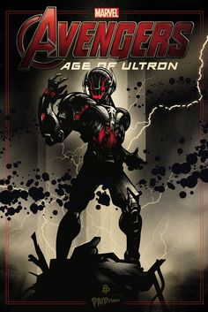 """by Paul Ainsworth  The Poster Posse Pays Tribute To """"Marvel's Avengers: Age Of Ultron"""" by Creator Poster Posse"""