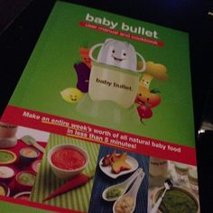 Almost time to use it... excited! #babybullet #babyfood