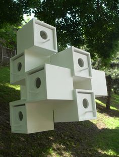 Habitat 67 Purple Martin House