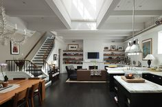open floor plan - wow what a house!