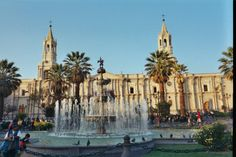 La Plaza de Armas de Arequipa  *DONE, but will do it a million times over, and it'll never get old*