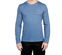 This versatile and lightweight long-sleeve T-shirt from Craghoppers makes a great base layer for cold conditions. Men's NosiLife Long-sleeved T-Shirt | National Geographic Store
