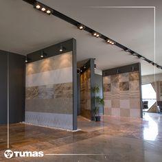 Tümaş marble, tile manufacturer, supplier, producer, exporter and marble projects in Turkey Denizli Showroom Interior Design, Tile Showroom, Shop Interiors, Office Interiors, Floor Design, Ceiling Design, Kitchen And Bath Showroom, Tile Stores, Grey Bathrooms