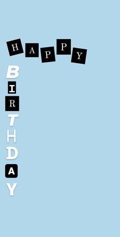 Happy Birthday Best Friend, Happy Birthday Frame, Happy Birthday Posters, Happy Birthday Wallpaper, Birthday Posts, Birthday Frames, Friend Birthday Quotes, Happy Birthday Boyfriend, Happy Birthday Quotes