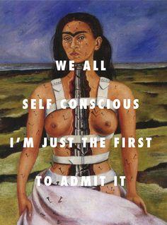 the broken column falls down The Broken Column (1944), Frida Kahlo / All Falls Down, Kanye West ft. Syleena Johnson