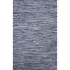 Found it at Wayfair - Newman Hand-Woven Blue Area Rug