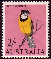 Australia 1964 SG 366 Birds Golden Whistler Fine Mint Scott 370 Other Australian Stamps HERE