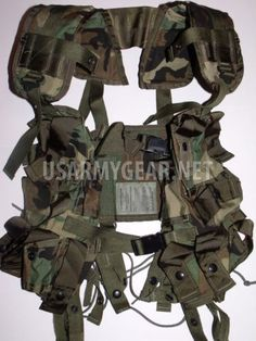 NEW Military Tactical Grenade Carrier Load Bearing Cargo LBV Vest | US Army Gear