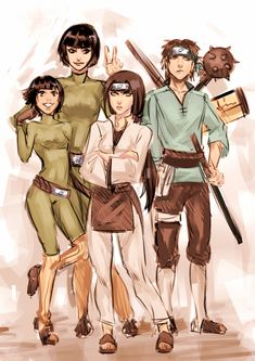 Naruto Shippuden Gender Bender By Moni158