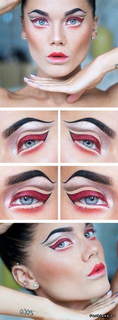 #halloween #makeup Linda Hallberg