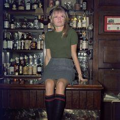 Brigitte Bardot at the pub