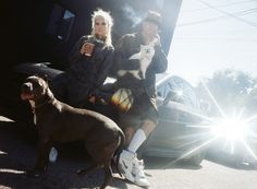 Die Antwoord, by Olivia Bee, for the Nylon Magazine