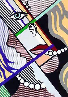 Roy Lichtenstein - Modern Art 1996