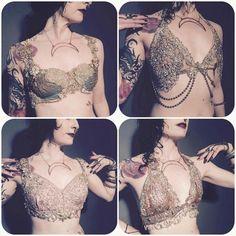 Beautiful dance bras by Black Lotus Clothing