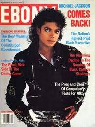 Michael Jackson Bad Ebony cover