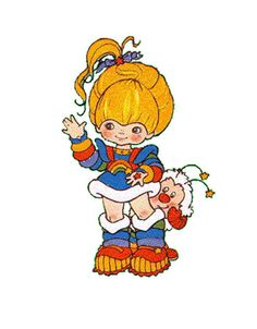 Rainbow Brite | 11 Children's Characters With Questionable Makeovers