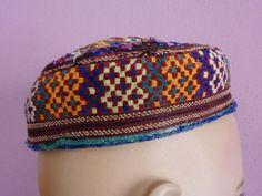 Traditioneller bestickete afghanischer Kappe von neemaheTribal