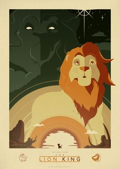 The Lion King by Jonny Eveson #movies #posters #disney