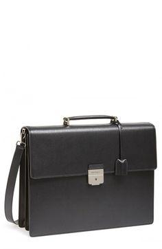3d1505ff16 Mens Look 2 - Salvatore+Ferragamo+ Revival +Leather+Briefcase+