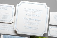 Stately, elegant and modern all at once, the 'Classic Cornice' suite is a wedding invitation design that strikes the perfect balance for a new classic style. Classic Wedding Invitations, Wedding Invitation Design, Wedding Stationery, Color Of The Year 2017 Pantone, Pantone Color, Ceremony Programs, Reception Card, Cornice, Event Design