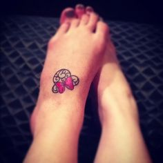 My Minnie mouse tattoo!!! Almost healed!!!