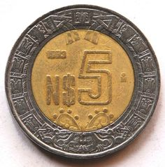 Sell Old Coins, Mexican Peso, Coin Auctions, Euro Coins, Valuable Coins, Hand Lettering Alphabet, Aztec Art, Coin Worth, Coin Collecting