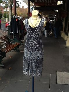1920s Flapper Dress by brookeO