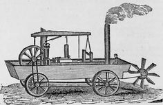 Automobiles were more than just a dream as early as as Oliver Evans patents a steam engine to propelled carriages. From author Jim Hinckley Evans, Amphibious Vehicle, First Car, Steam Engine, Car Photography, First World, American History, Automobile, Vehicles