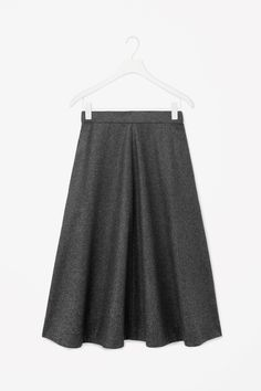 Herringbone wool skirt. Architecturally simple, but structurally rich.