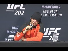 UFC (Ultimate Fighting Championship): UFC 202: Nate Diaz Post-fight Press Conference