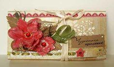 Коробочка для шоколада, шоколадница, сладкий подарок, бумажные цветы, поздравление, шелковая лента,сладкий сюрприз, скрап